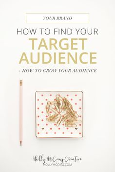 How to Find Your Target Audience via @hollymccaig Having a clear definition of your target audience is key to building your products and services. How many of you started a blog and just waited for something to happen? It didn't, right? Read how and learn how to grow it too. Plus get access to the Brand Clarity Toolkit for free…