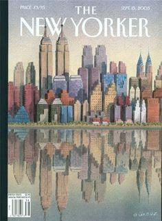 La editora de arte del The New Yorker, Françoise Mouly, comenta las portadas de la revista sobre el 11-S.