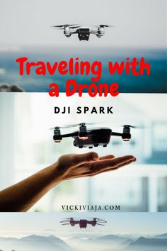Traveling with a drone I DJI Spark I What to know when traveling with a drone I which drone to bring