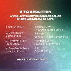 11 Abolition Defund The Police Ideas Defund The Police Police Incarceration
