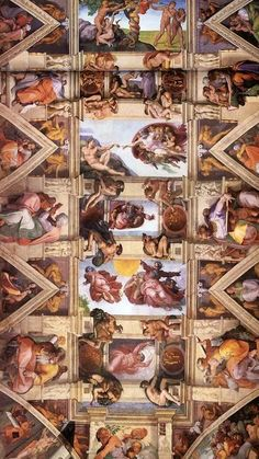 #2 The Sistine Chapel - To look up at the Creation of David by Michelangelo...