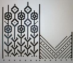 60 best ideas for crochet bookmark chart fair isles Knitting Charts, Loom Knitting, Knitting Socks, Knitting Patterns, Crochet Patterns, Knitted Mittens Pattern, Crochet Gloves, Knit Mittens, Knit Crochet