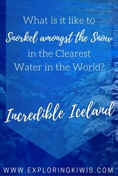 Scuba Iceland Snorkel Silfra Rift Review