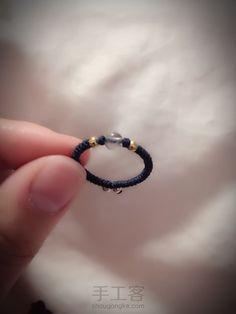【银·月光】月光石金银珠两面戒指