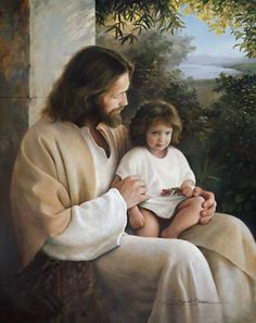 Greg Olsen art - have this one in my front room.