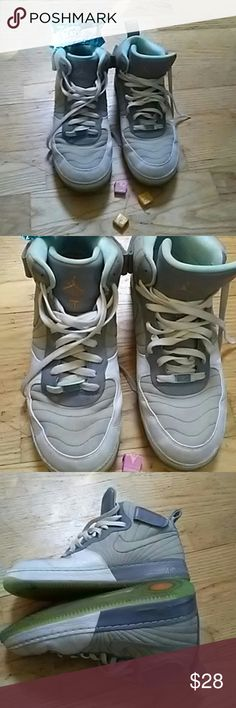 Jordan's Good condition and could be easily cleaned up Nike Shoes Sneakers