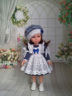 Испанские куклы PAOLA REINA. Выкройки.Схемы. — Хвастушки! Вязанной одежды для кукол | OK.RU