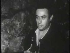 (5:14) Lenny Bruce just before he died in his piece on The Rules