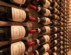 Vintage View Wine Racking - modern - wine cellar - vancouver - by Blue Grouse Wine Cellars Vintage View Wine Racks, Modern Wine Rack, Wine Fridge, Home Builders, Grouse, Wine Cellars, Vancouver, Interiors, Bar