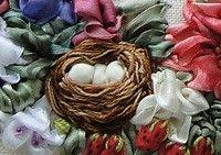 Fita-Art.net - Galeria de arte, - a galeria obras, fita de seda bordados, amostras e exemplos