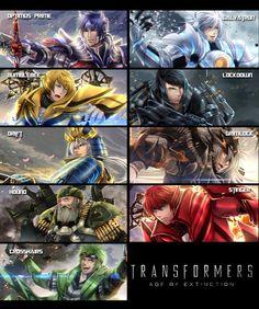 Transformers AoE gijinka PREVIEW by Kurosaki-Sasori-chan.deviantart.com on @deviantART