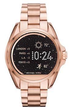 MICHAEL MICHAEL KORS Bradshaw Bracelet Smart Watch, 45Mm. #michaelmichaelkors #