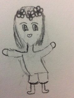 Chibi girl Chibi Girl, My Drawings, My Arts, Female