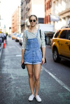 STREET STYLE INSPIRATION: DENIM OVERALL Time for Fashion waysify