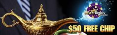 $50 Free Chip for Depositors at Desert Nights Casino