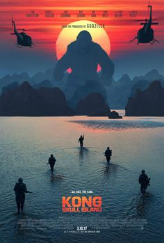 You shouldn't have come here. #kongskullisland now playing in theaters everywhere. Get Tickets Now!