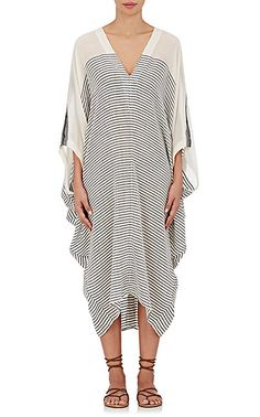 We Adore: The Bahia Striped Cotton Cover-Up Caftan from Su at Barneys New York
