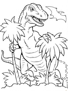 Dinosaur Coloring Pages for Kids. 50 Free Printable Dinosaur Coloring Pages for Kids. Dinosaur Coloring Pages English Esl Worksheets for Spring Coloring Pages, Animal Coloring Pages, Coloring Pages To Print, Free Printable Coloring Pages, Coloring Book Pages, Coloring Sheets For Boys, Dinosaur Coloring Sheets, Coloring For Kids, Fairy Coloring