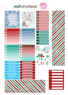 Free Winter Wonderland Printable