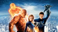 High Quality fantastic four backround, 420 kB - Van Little