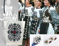 There is nothing random about the motifs sewn on the Romanian textiles, every stitch is a code. Traditional Dresses, Traditional Art, Nature Symbols, Protection Symbols, Secret Language, Social Status, Easter Traditions, Embroidered Jacket, Folk Costume