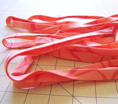 how to make bias tape from a fat quarter