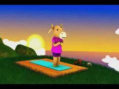 Yoga para niños, precioso!!