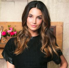 Everything about Lily Aldridge's look is right.