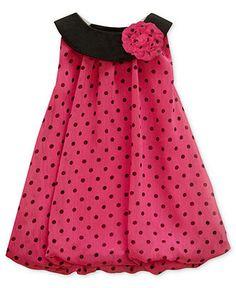 Baby Essentials Baby Dress, Baby Girls Romper Bubble Dress - Kids Baby Girl (0-24 months) - Macy's