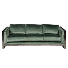 Just the perfect sofa.  Rectangle Sofa by Milo Baughman