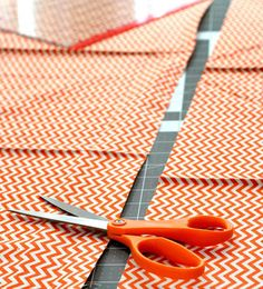 Looking for the perfect gift for someone who loves sewing? A pair of Fiskars Original Orange-Handled Scissors are a timeless and trusted tool for quilters and seamstresses and tailors alike. Love Sewing, Scissors, Orange, The Originals, Gifts, Presents, Gifs