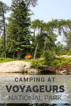 Camping at Voyageurs