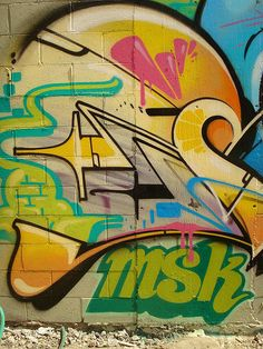 Rime MSK Close-Up LosAngeles Graffiti Art   Flickr - Photo Sharing!