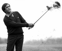 Seve Ballesteros, Sadly gone to soon.What a guy. Totally handsome! !