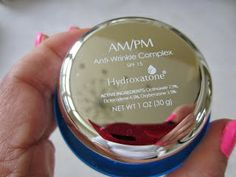 Hydroxatone AM/PM Anti-Wrinkle Complex :  Hydroxatone AM/PM Anti-Wrinkle Complex is a lightly-scented, rich and luxurious facial cream that moisturizes my skin and leaves it feeling soft and smooth.  I have very dry skin and found Hydroxatone's cream to be more emollient than most creams and lotions I have reviewed, and a little goes a long way.