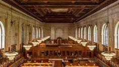 ❝ Colocando los libros en la Biblioteca Pública de Nueva York tras su restauración [VÍDEO] ❞ ↪ Puedes verlo en: www.proZesa.com