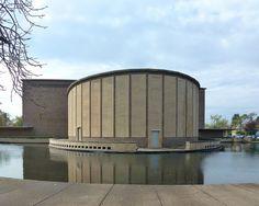 Buffalo, NY Kleinhans Music Hall, National Historic Landmark, designed by Eero Saarinen and Eliel Saarinen in 1939. Flickr - Photo Sharing! Entry in the 2012 National Historic Landmark Photo Contest by army.arch