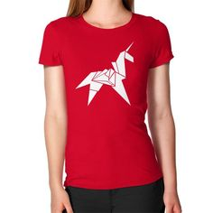Origami Unicorn Women's T-Shirt