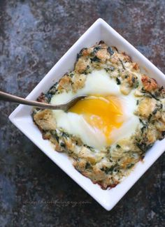 A low carb breakfast casserole recipe from Mellissa Sevigny of I Breathe Im Hungry