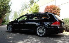 Volkswagen MkV Jetta Sport Wagon on 18 inch Hartmann Euromesh-4-GS wheels