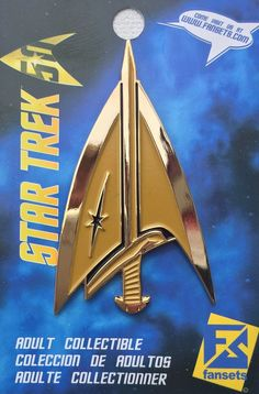 Star Trek Mirror Terran Delta Logo Licensed FanSets MicroCrew Collector's Pin