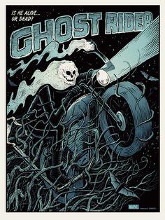 Ghost Rider by Methane Studios – Mondo