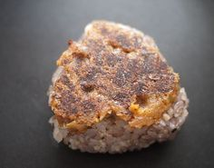 Negimiso Yaki Onigiri Yaki onigiri is a filled or unfilled onigiri rice ball that's grilled until crispy on the outside, then coated with some sort of sauce. Negimiso is perfect for yaki onigiri.