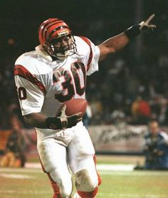 Ickey Woods: Great memories of his tough play and of course, The Ickey Shuffle