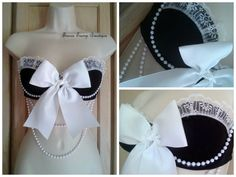 CLEARANCE French Maid Costume Bra by TranceTrampBoutique on Etsy, $35.00