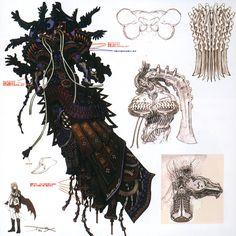 final fantasy xiii concept art   Concept art.