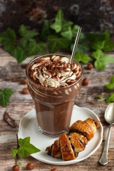 Hungarian Recipes, Hungarian Food, Caramel Apples, Cake Cookies, Chocolate Fondue, Peanut Butter, Cooking Recipes, Pudding, Coffee