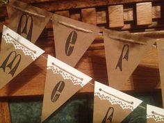 Mini Chipboard Christmas Banners/Cricut Explore