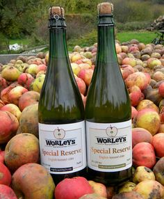 Somerset cider from Worley's cider