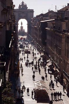 Lisboa, a quarta cidade mais bela do mundo segundo o site de viagens, city guides. Foto de autor desconhecido.